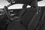 Front seat view of a 2015 Ford Mustang V6 2 Door Coupe Front Seat car photos