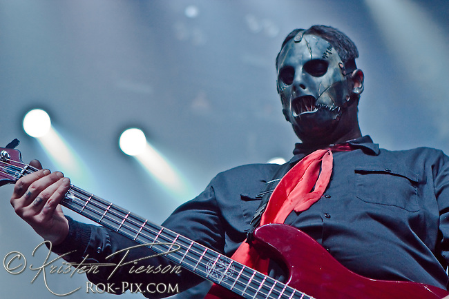 Slipknot, Tsongas Arena in Lowell, Massachusetts, February 6, 2009