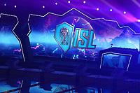 Logo  ISL<br /> Napoli 13-10-2019 Piscina Felice Scandone <br /> ISL International Swimming League <br /> Photo Cesare Purini/Deepbluemedia/Insidefoto