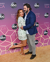 05 August 2019 - West Hollywood, California - Poppy Montgomery, Shawn Sanford. ABC's TCA Summer Press Tour Carpet Event held at Soho House.   <br /> CAP/ADM/BB<br /> ©BB/ADM/Capital Pictures