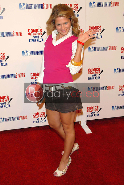 Cameron Goodman<br />at the television premiere party for the show &quot;Comics Unleashed&quot;. Sunset Gower Studios Stage 9, Hollywood, CA. 09-25-06<br />Dave Edwards/DailyCeleb.com 818-249-4998
