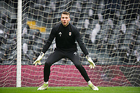 Fulham's Marcus Bettinelli before the Sky Bet Championship match between Fulham and Queens Park Rangers at Craven Cottage, London, England on 17 March 2018. Photo by Andrew Aleksiejczuk / PRiME Media Images.