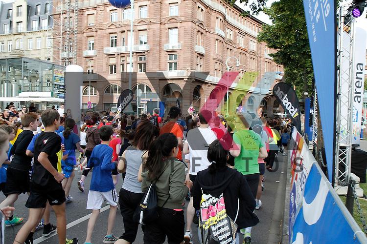 Pfitzenmeier Mini Marathon beim SAP Arena Marathon 31.05.2014.<br /> <br /> Foto &copy; Rhein-Neckar-Picture *** Foto ist honorarpflichtig! *** Auf Anfrage in hoeherer Qualitaet/Aufloesung. Belegexemplar erbeten. Veroeffentlichung ausschliesslich f&uuml;r journalistisch-publizistische Zwecke.