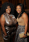 Verlia Reed-Byrd and Jasmine Brown at the Touchdown for TEACH gala at the River Oaks Country Club Tuesday Nov. 10, 2015.(Dave Rossman photo)