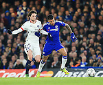 Chelsea's Kennedy tussles with PSG's Adrien Rabiot<br /> <br /> - UEFA Champions League - Chelsea vs Paris Saint Germain - Stamford Bridge - London - England - 9th March 2016 - Pic David Klein/Sportimage