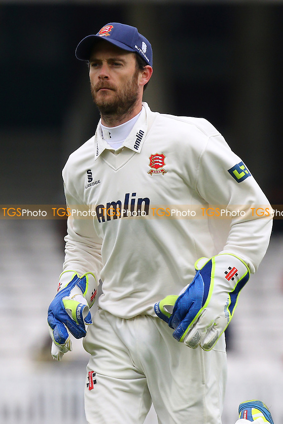 James Foster of Essex - Surrey CCC vs Essex CCC - LV County Championship Division Two Cricket at the Kia Oval, Kennington, London - 26/04/15 - MANDATORY CREDIT: Gavin Ellis/TGSPHOTO - Self billing applies where appropriate - contact@tgsphoto.co.uk - NO UNPAID USE