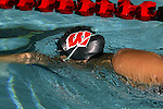 2003-04 Carly Piper of the Wisconsin Badgers swim team photographed on September 9, 2003 at the Natatorium in Madison, Wisconsin. (Photo by David Stluka).