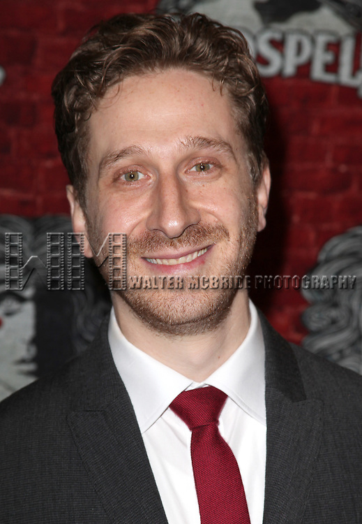 Daniel Goldstein.arriving for the Opening Night Performance of the Broadway Revival of 'Godspell' at Circle in the Square Theatre in New York City.