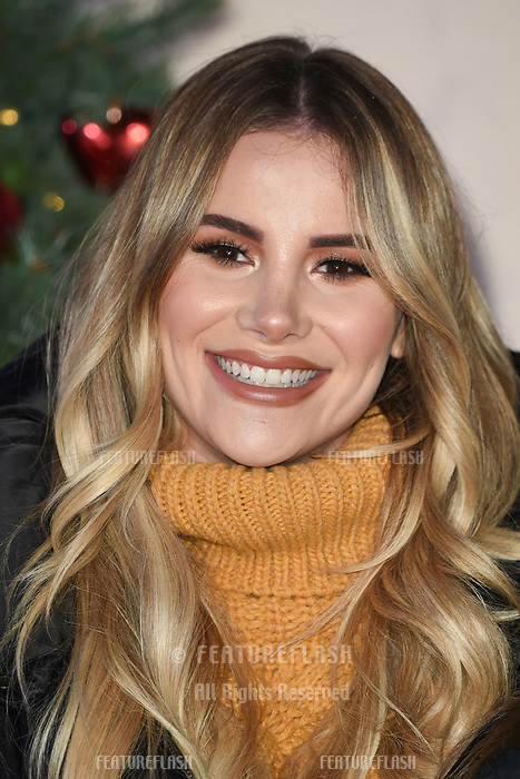LONDON, UK. November 21, 2018: Georgia Kousoulou at the &quot;Surviving Christmas with the Relatives&quot; premiere at the Vue Leicester Square, London.<br /> Picture: Steve Vas/Featureflash