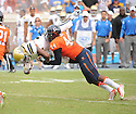 Virginia Cavaliers Henry Coley (44) during a game against the UCLA Bruins on August 30, 2014 at Scott Stadium in Charlottesville, VA. UCLA beat Virginia 28-20.