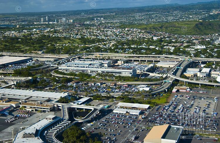 Honolulu International airport industrial area.