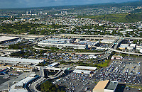 Honolulu International airport industrial area.