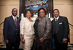 Chaplain Michael McCoy, Angela L. Holder, Barbara Matthews, and Captain Paul J. Matthews