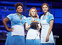 Waitress.A Musical. Music and Lyrics by Sara Bareilles,Book by Jessie Nelson, Based on the movie written by Adrienne Shelly. Directed by Diane Paulus.With Marisha Wallace as Becky,Katherine McPhee as Jenna, Laura Baldwin as Dawn. Opens at The Adelphi Theatre on 7/3/19 pic Geraint Lewis EDITORIAL USE ONLY