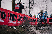 Jakub Schierl (CZE)<br /> <br /> Junior Men's Race<br /> UCI CX Worlds 2018<br /> Valkenburg - The Netherlands