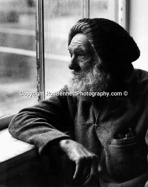Old sailer look out window during cold winter day in Georgetown Washington DC, Fine Art Photography by Ron Bennett, Fine Art, Fine Art photography, Art Photography, Copyright RonBennettPhotography.com ©