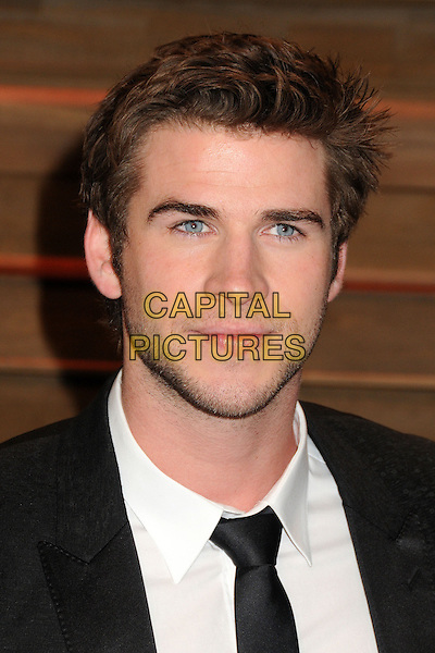 02 March 2014 - West Hollywood, California - Liam Hemsworth. 2014 Vanity Fair Oscar Party following the 86th Academy Awards held at Sunset Plaza.  <br /> CAP/ADM/BP<br /> &copy;Byron Purvis/AdMedia/Capital Pictures