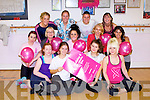 DANCEATHON: Launching the Kerry Dance and Fitness Centre, Tralee Danceathon with special guest Mariuz Ryz (international ballroom champion) in aid of Breast Cancer Aware to be held on Sunday 13th of October at the studio from 2pm to 5pm  front l-r: Mary O'Sulliavn, Elizabeth McHugh, Magen Fort and Christine Switzer. Centre l-r: Carly Norris, Aileen Miller, Orla Slattery, Miriam McGillicuddy and Estefy Fuentes. Back l-r: Denise Ryan, Elaine Baily, Christina Sanchez and Debbie Driscoll (owner).