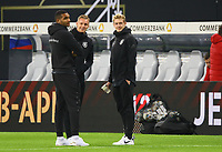 Jonathan Tah (Deutschland Germany), Torwart Bernd Leno (Deutschland Germany), Julian Brandt (Deutschland Germany) - 15.11.2018: Deutschland vs. Russland, Red Bull Arena Leipzig, Freundschaftsspiel DISCLAIMER: DFB regulations prohibit any use of photographs as image sequences and/or quasi-video.