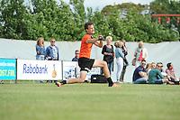 KAATSEN: SINT JACOB: 19-06-2016, Heren Hoofdklasse Vrije formatie winnaar werden Gert-Anne van der Bos, Taeke Triemstra (slaat de bal) en Daniël Iseger, ©foto Martin de Jong