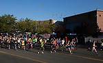 Runners start the 49th Annual Journal Jog in Reno, Nevada on Sunday, September 10, 2017.