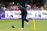 Mohammad Amir of Essex warms up during Essex Eagles vs Surrey, NatWest T20 Blast Cricket at The Cloudfm County Ground on 7th July 2017