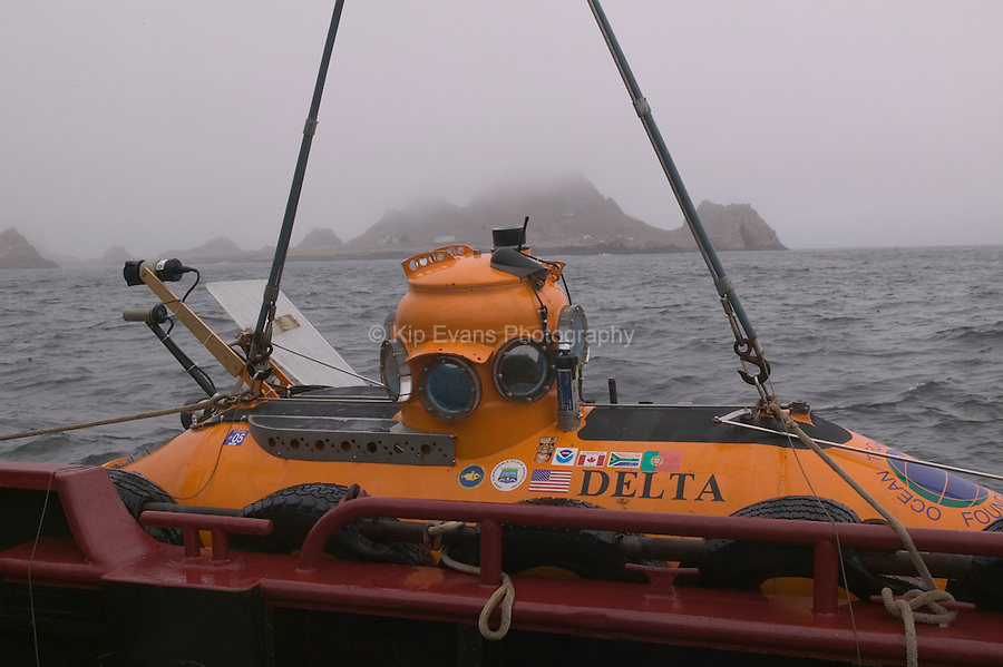 Delta Submersible - Cordell Bank National Marine Sanctuary