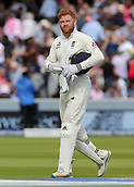 9th September 2017, Lords Cricket Ground, London, England; International test match series, third test, Day 3; England versus West Indies; England Wicket Keeper Jonny Bairstow