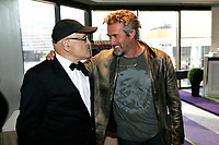 2011 File Photo - World Film Festival Red Carpet - Serge Losique, Roy Dupuis<br /> <br />  File Photo Agence Quebec Presse - Pierre Roussel
