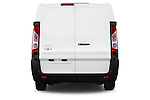Straight rear view of a 2013 Toyota PROACE COMFORT 5 Door Combi Rear View  stock images