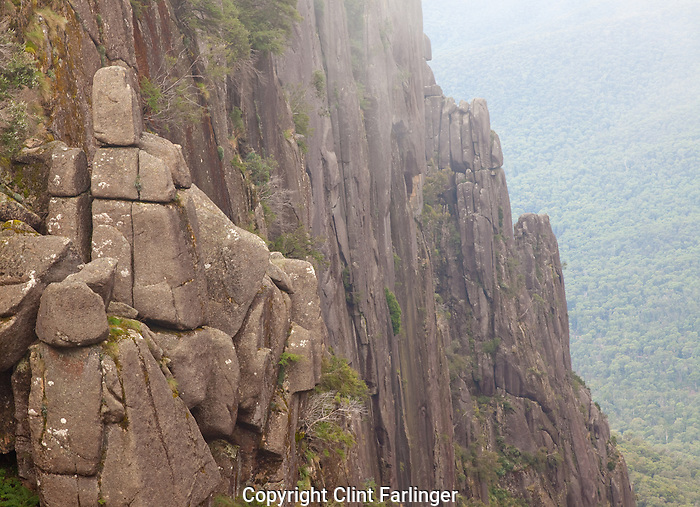 wall of The Gorge, Mount Buffalo National Park, Victoria, Australia