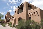 Pueblo Revival architecture, Museum of Fine Arts, Museum of New Mexico, Santa Fe, New Mexico