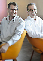 Architects Henry Roussel and Eric Steiner of ADR