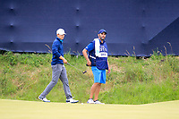 Jordan Spieth (USA) on the 14th during final round of The Open Championship 146th Royal Birkdale, Southport, England. 23/07/2017.<br /> Picture Fran Caffrey / Golffile.ie<br /> <br /> All photo usage must carry mandatory copyright credit (&copy; Golffile | Fran Caffrey)