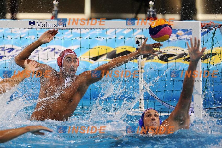 Men's Waterpolo / Pallanuoto.3/4 place final.Croatia Vs Hungary 12-11.Shanghai 30/7/2011 .14th FINA World Championships.Foto Andrea Staccioli Insidefoto