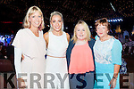 Rebecca Kemp, Leonie Flaherty, Ciara Fitzgerald and Mary Fitzgerald, who attended the Austin Stacks Strictly Come Dancing held in the Dome, Tralee on Saturday night