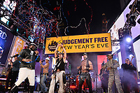NEW YORK CITY - DECEMBER 31: The Village People appear on FOX'S NEW YEAR'S EVE WITH STEVE HARVEY: LIVE FROM TIMES SQUARE on December 31, 2019 in New York City. (Photo by Anthony Behar/Fox/PictureGroup)