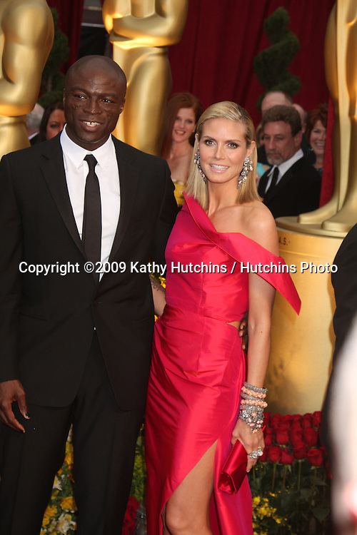 Seal & Heidi Klum   arriving at the 81st Academy Awards at the Kodak Theater in Los Angeles, CA  on.February 22, 2009.©2009 Kathy Hutchins / Hutchins Photo...                .