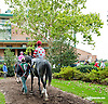 Keep the Canoli before The Barbaro Stakes at Delaware Park on 10/9/13