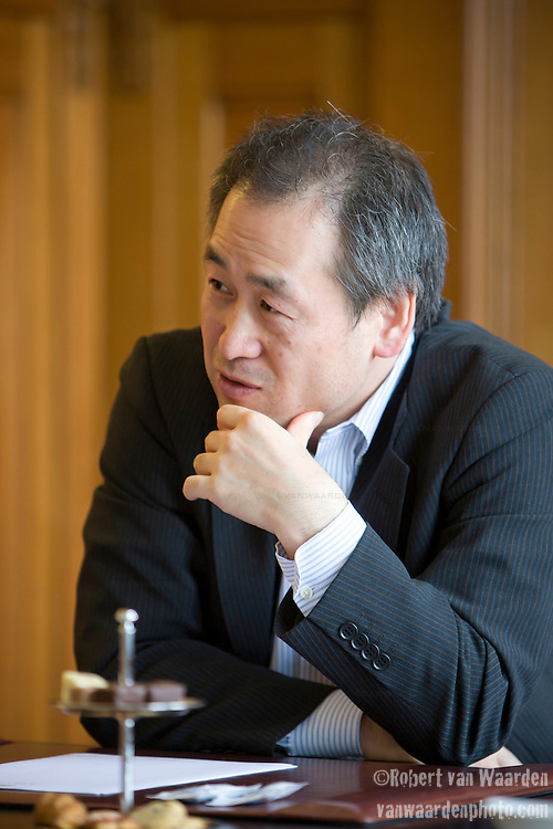 Mr. Goto: Meeting at the Grand Amrath Hotel in Amsterdam for USACO Corporation.