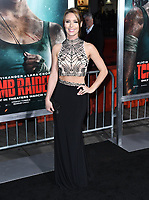 12 March 2018 - Hollywood, California - Amy Pemberton. &quot;Tomb Raider&quot; Los Angeles Premiere held at TCL Chinese Theatre. <br /> CAP/ADM/BT<br /> &copy;BT/ADM/Capital Pictures