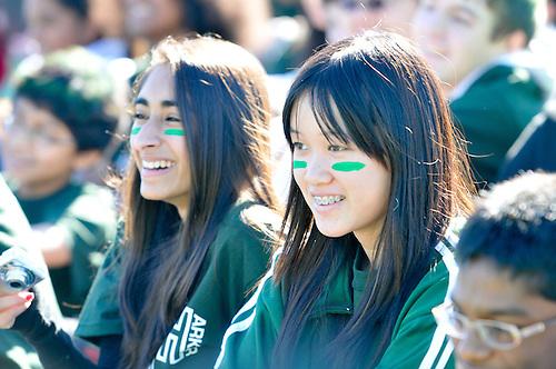 2010-11 US Homecoming Rally..Photo by Ashley Batz