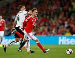 Aaron Ramsey of Wales during the World Cup Qualifying Group D match at the Cardiff City Stadium, Cardiff. Picture date 2nd September 2017. Picture credit should read: Simon Bellis/Sportimage