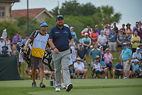 Shane Lowry (IRL) makes his way down 3 during round 3 of The Players Championship, TPC Sawgrass, at Ponte Vedra, Florida, USA. 5/12/2018.<br /> Picture: Golffile | Ken Murray<br /> <br /> <br /> All photo usage must carry mandatory copyright credit (&copy; Golffile | Ken Murray)