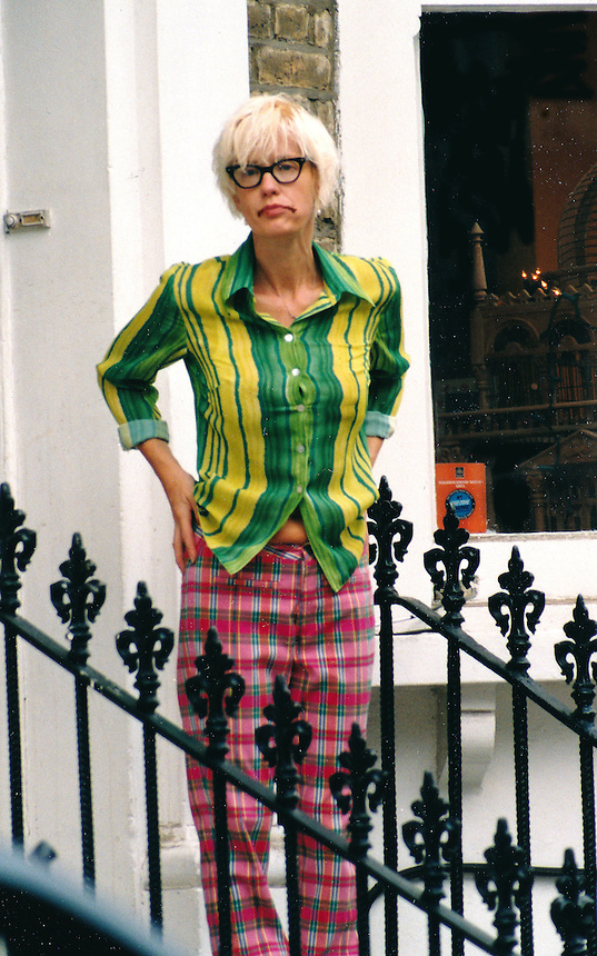 Paula Yates in marital home she shared with Sir Bob Geldof following her relationship with Michael Hutchence of INXS.Michael Moved into this house with her prior to mid 1995.PIC JAYNE RUSSELL. pre mid 1995