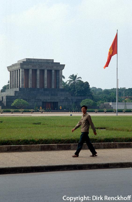 Ho Chi Minh-Mausoleum in Hanoi, Vietnam