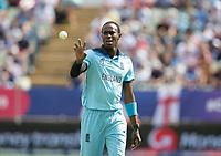 Jofra Archer (England) during Australia vs England, ICC World Cup Semi-Final Cricket at Edgbaston Stadium on 11th July 2019