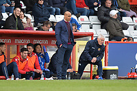 Stevenage Manager Dino Maamria during Stevenage vs Bury, Sky Bet EFL League 2 Football at the Lamex Stadium on 9th March 2019