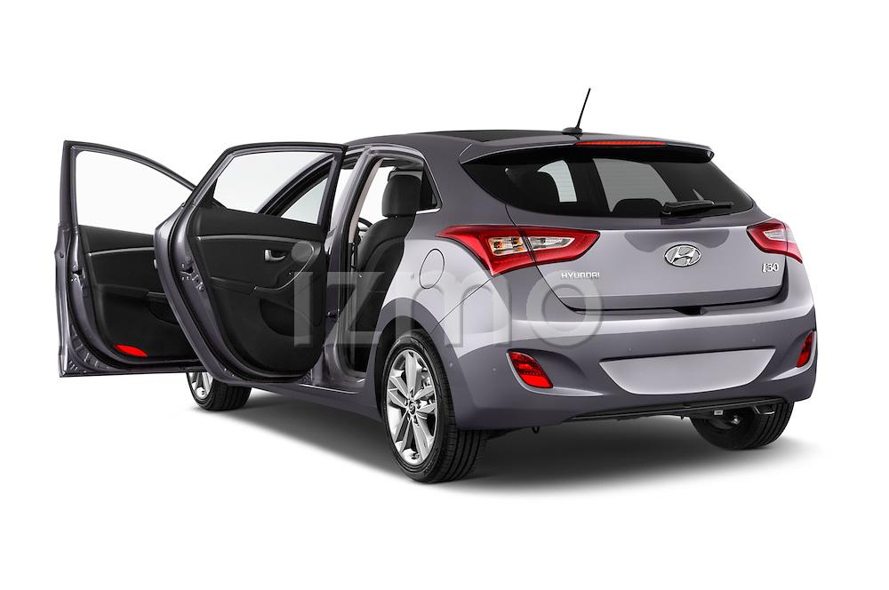 Car images close up view of 2015 Hyundai I30 Joy 5 Door Hatchback doors
