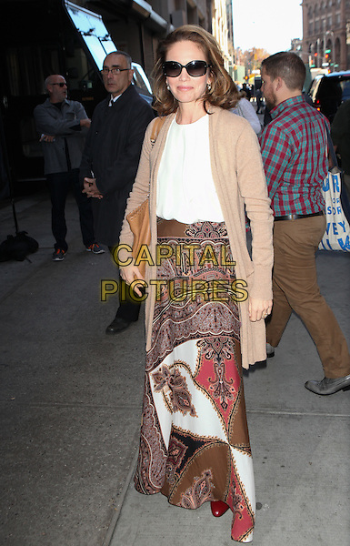 NEW YORK, NY - NOVEMBER 4: Diane Lane Seen In New York City on November 4, 2015.  <br /> CAP/MPI99<br /> &copy;MPI99/Capital Pictures